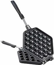 Waffle Pan with Handle, Non Stick Anti‑Scald