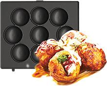 Waffle Plates 14*14cm Black Style C for Waffle