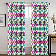 WAFJJ Curtain for Girls Color & pattern Bedroom