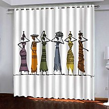 WAFJJ Curtain for Girls Retro & Girls Bedroom