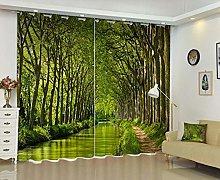 WAFJJ Eyelet Blackout Curtains Green & Forest