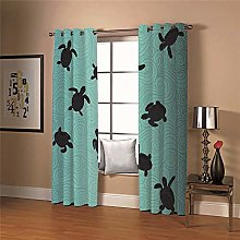 WAFJJ Super Soft Thermal Insulated Window Blue &