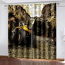 WAFJJ Thermal Insulated Blackout Curtains