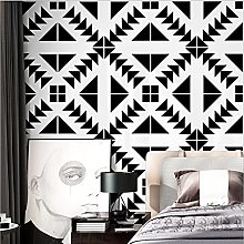 WAFJJ WallpaperAbstract Black and White Mural Roll