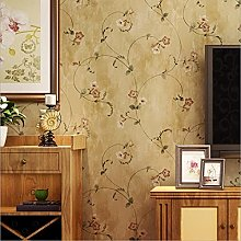 WAFJJ WallpaperYellow Flower Tree Mural Roll
