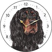 WaggyDogz Gordon Setter Dog Gift Wall Clock