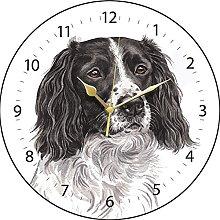 WaggyDogz Springer Spaniel Dog Gift Wall Clock