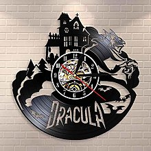WAGUZA Dracula's Castle Wall Art Wall Clock