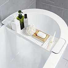 WAIDLY Expandable Bathtub Caddy Tray, Rustproof