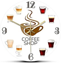 WAIGE Types of Espresso s Cup Coffee Shop Kitchen