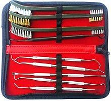 Wakauto 9pcs/Set Auto Detailing Cleaning Tools Kit