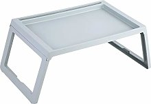 Wakects Bed lap desk, foldable serving tray for