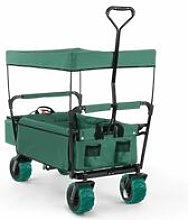 Waldbeck The Green Supreme Hand Cart Hand Wagon 68