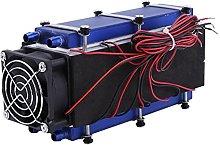 Walfront Mini Air Conditioner,DC 12V 576W 8-Chip