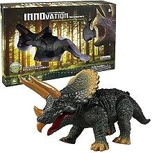 Walking Remote Control Dinosaur Triceratops Toy