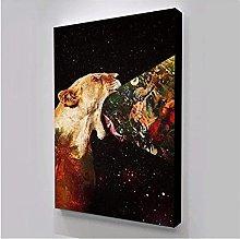 wall art Abstract Animal Print Home Decor Canvas