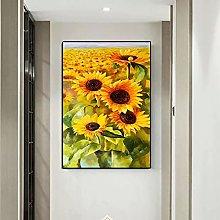 Wall art decoration painting HD Print Sunflower