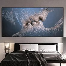 Wall art decoration painting Modern Abstract Lover