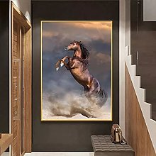 Wall art decoration painting Modern Steed Horse