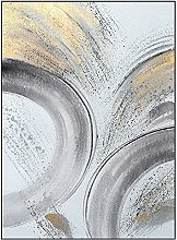 Wall Art For Living Room,Modern Abstract Circle