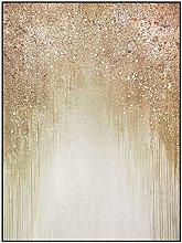 Wall Art For Living Room,Modern Abstract Golden