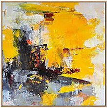 Wall Art For Living Room,Modern Abstract Vessel