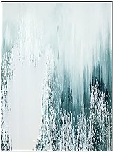 Wall Art For Living Room,Modern Abstract Waterfall