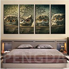Wall Art Home Decorative Canvas Art print Owl