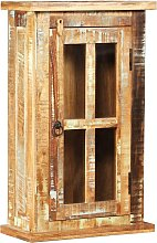 Wall Cabinet Solid Reclaimed Wood 44x21x72 cm -