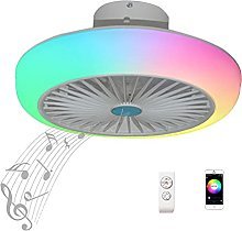 Wall Ceiling Fan Lights Childrens with Remote