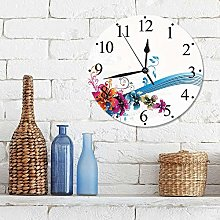 Wall Clock 12 Inch Silent Non Ticking Clock ,35th