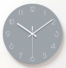 Wall Clock 12 inch Wall Clock Pure Color Creative