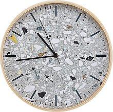 Wall Clock ø 31 cm Grey GORDOLA