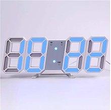 Wall Clock 3D Digital Modern Design Living Room