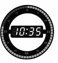 Wall Clock 3D LED Smart Digital Wall Clock