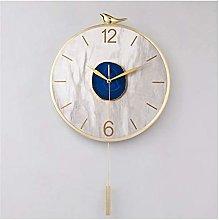 Wall Clock Agate Stone Living Room Wall Clock