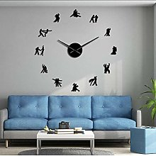 Wall clock Ballroom Dancing Wall Art DIY Large