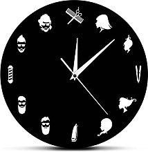 Wall Clock Barber Shop Decorative Wall Clock