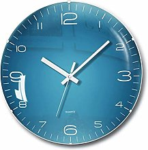 Wall Clock Battery Operated Non Ticking -