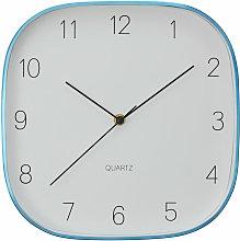 Wall Clock Blue / Black Finish Frame Clocks For