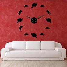Wall clock Cats and Mice Decorative Wall Clock Kid