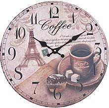 Coffee Clocks Kitchen Shop It Now Online Uk Lionshome