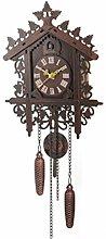 Wall Clock Cuckoo Shaped Clock Antique Pendulum