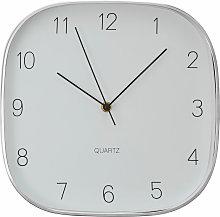 Wall Clock Dark Silver / Black Finish Frame Clocks