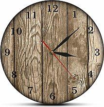 Wall clock Decorative Painting Old Barn Wall Clock