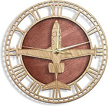 Wall Clock Eclipse 500/550 Airplane Model Wall