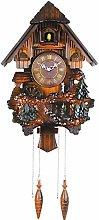 Wall clock Fashian Retro Cuckoo Wall Clock Wood