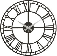 Wall Clock - for Living Room, Kitchen - Black