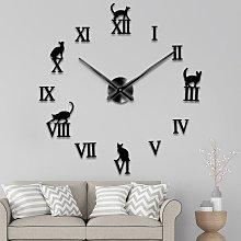 Wall Clock Function Acrylic Minimalist Wall Clock