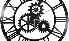 Wall Clock - Gears - for Living Room, Kitchen -